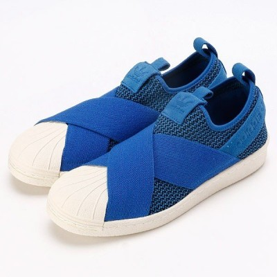 国内正規品♪ adidas【アディダス】 SUPERSTAR SLIP ON W スーパースター スリッポン W 【BB2120】 ブルー