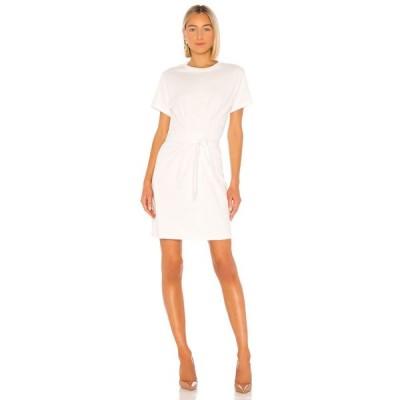 ヴィンス Vince レディース ワンピース ワンピース・ドレス Short Sleeve Waist Tie Dress Off White