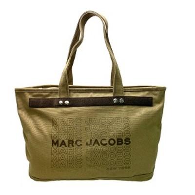 マークジェイコブス MARCJACOBS バック トートバッグ レディース アウトレット 綿100% A4対応 トップジップ M0016404 357 ブラック×グ