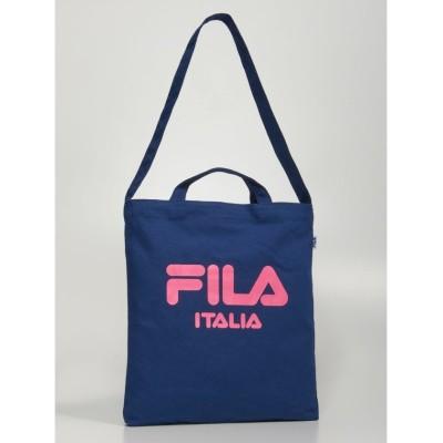 (FILA(Bag)/フィラ バッグ)イージーショルダートート(FM2066)/ユニセックス ネイビー