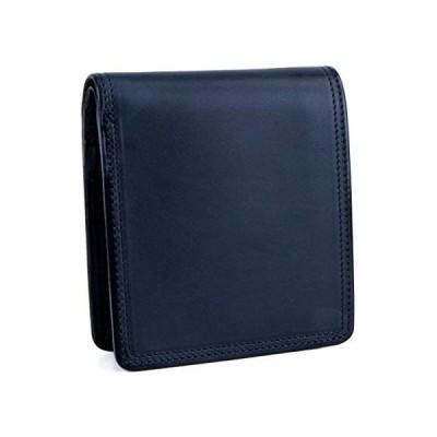 [コルボ] CORBO. -SLATE- スレートシリーズ 小銭入れ付き二つ折り財布 8LC-9361 (ネイビー)