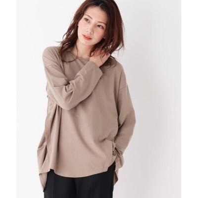 SHOO・LA・RUE / 【M-3L】サイドタックデザインプルオーバー WOMEN トップス > Tシャツ/カットソー