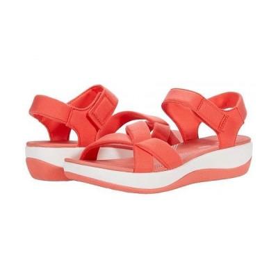 Clarks クラークス レディース 女性用 シューズ 靴 ヒール Arla Gracie - Bright Coral Textile