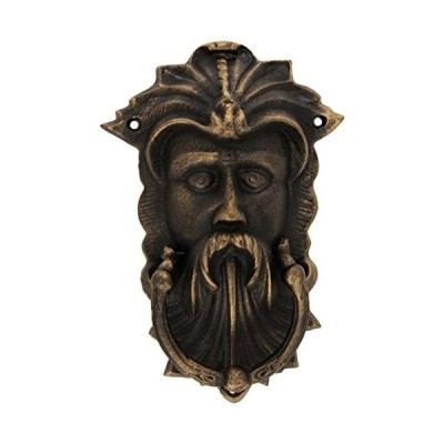 Design Toscano Sutherland House Greenman Authentic Foundry Door Knocker by