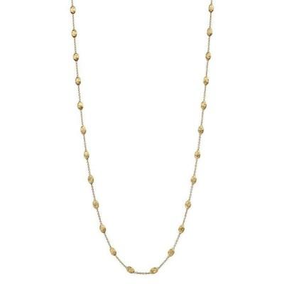 マルコ ビチェゴ レディース ネックレス・チョーカー アクセサリー 18K Gold Siviglia Small Bead Necklace 39