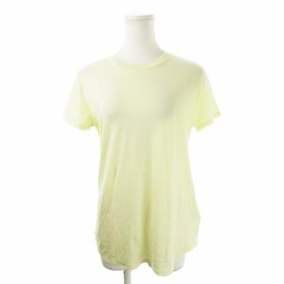 【中古】ミラオーウェン Mila Owen Tシャツ カットソー クルーネック 半袖 0 黄 イエロー /AH9 ☆ レディース
