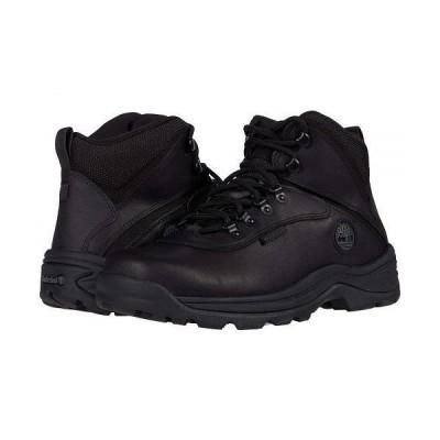 Timberland ティンバーランド メンズ 男性用 シューズ 靴 ブーツ レースアップ 編み上げ White Ledge Mid Waterproof - Black