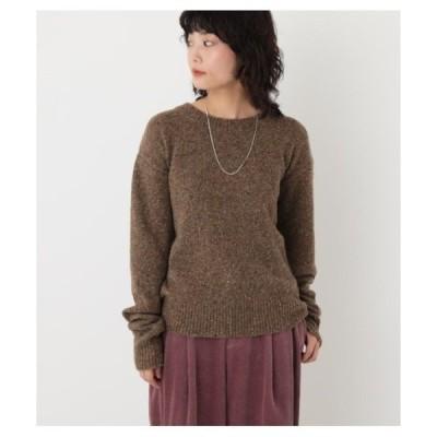 ニット nep yarn knit tops(ネップヤーンニットトップス)