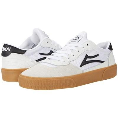 Lakai Cambridge メンズ スニーカー 靴 シューズ White/Black Suede