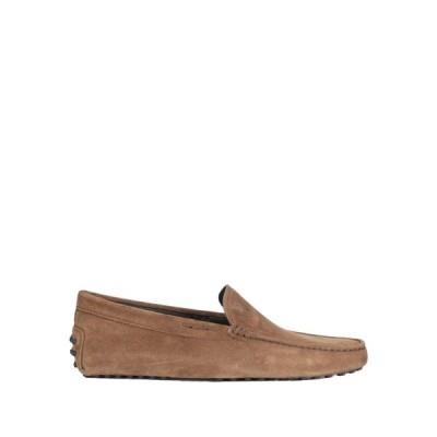 トッズ TOD'S メンズ ローファー シューズ・靴 loafers Camel
