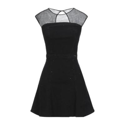 GUESS デニムドレス  レディースファッション  ドレス、ブライダル  パーティドレス ブラック