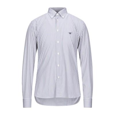 ヘンリー コットンズ HENRY COTTON'S シャツ ライトグレー S コットン 100% シャツ