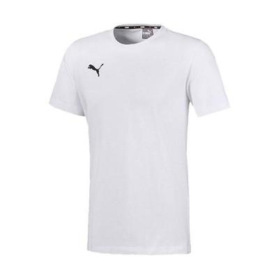 プーマ(PUMA) メンズ サッカー TEAMGOAL23 カジュアル Tシャツ プーマホワイト 656986 04 半袖 トップス 練習着 スポーツウェア カジュアルウェア