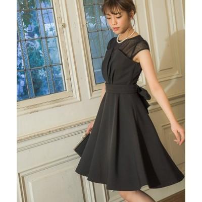 ドレス 【WEB限定】ドットチュールドレス796816