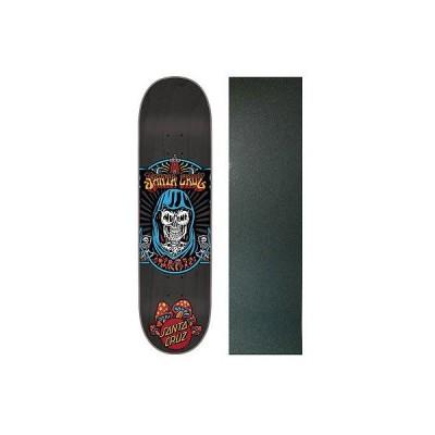 """スケボー サンタクルーズ デッキ スケートボード ロングボード SANTA CRUZ スケートボード スケボ Deck TRIPPIN 8.125"""" ウイズ グリップテープ"""