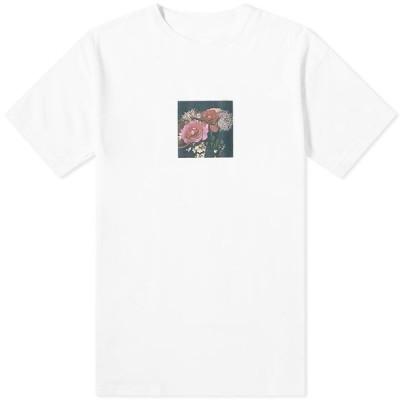 ユニフォームエクスペリメント Uniform Experiment メンズ Tシャツ トップス x Araki Polaroid A Tee White