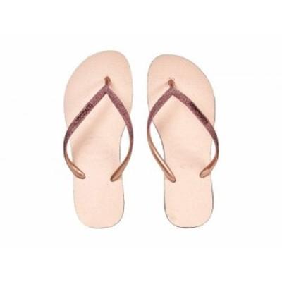 Havaianas ハワイアナス レディース 女性用 シューズ 靴 サンダル Slim Sparkle Flip-Flop Ballet Rose【送料無料】