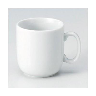 ☆ マグカップ ☆白腰丸マグ [ 10.8 x 7.6 x 8.2cm (230cc) 260g ] 【 カフェ レストラン 洋食器 飲食店 業務用 】