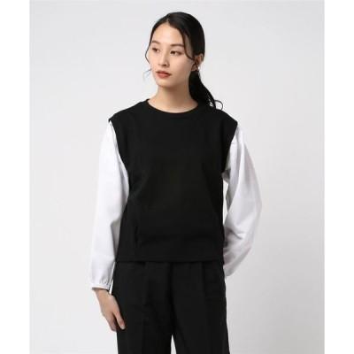 tシャツ Tシャツ コットン配色プルオーバー(LC)