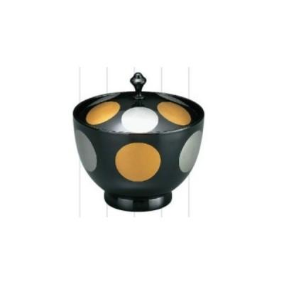 お椀 御所車椀 黒日月 耐熱ABS樹脂 食洗機対応 f5-194-7