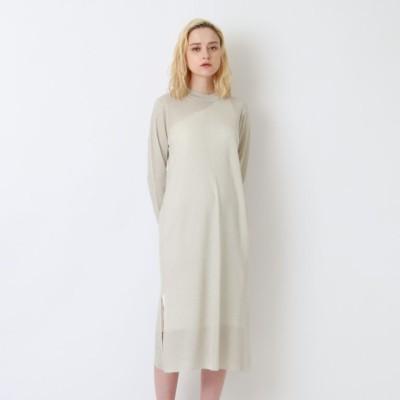 ◆◆シアー レイヤード ワンショルダー ドレス