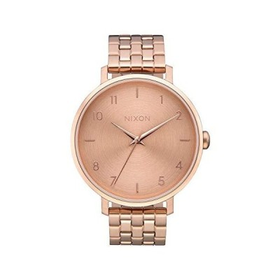 Nixon Women's 'Arrow' Quartz Metal and Stainless Steel Watch, Color:Rose Gold-Toned (Model: A1090897-00)並行輸入品