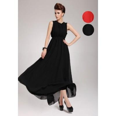 パーティー 披露宴 欧米輸出 ベルベット 異素材切り替え ドレス ワンピース