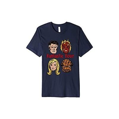 Marvel Fantastic Four Group Shot Comic Themed Poster Premium T-Shirt