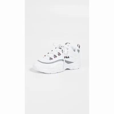 フィラ スニーカー Ray Sneakers White/Fila Navy/Silver