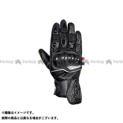elf riding wear ELG-7266 Leather Gloves カラー:ブラック サイズ:LL エルフ ライディングウェア