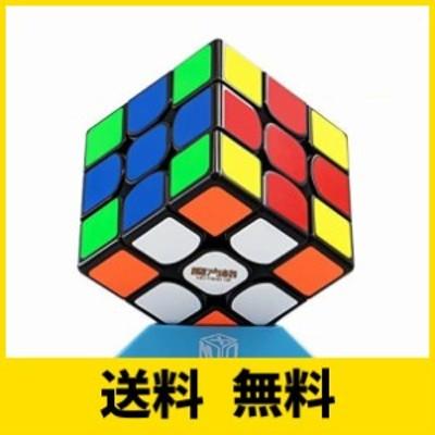 QiYi Thunderclap 3x3 V3 M 魔方 磁石内蔵 【6面完成攻略書付き】立体パズル ポップ防止 ストレス解消 おもちゃ (ステッカー)