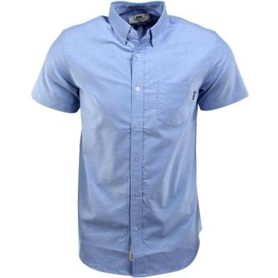 BAIT メンズ 半袖シャツ トップス Oxford Short Sleeve Shirt blue