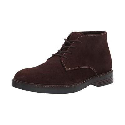 Clarks Men's Paulson Mid Chukka Boot, Dark Brown Suede, 10.5m