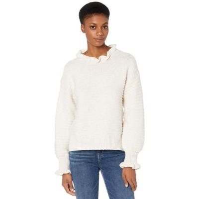 メイドウェル レディース ニット・セーター アウター Ruffle Neck Pullover Sweater