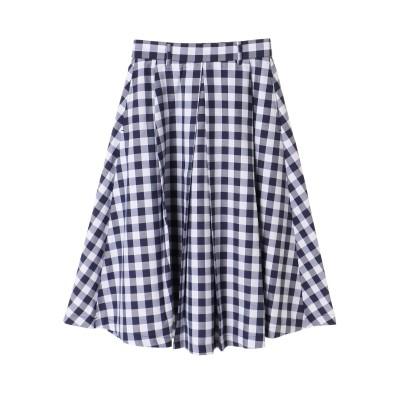 ・RAYCASSIN ギンガムチェックミディスカート