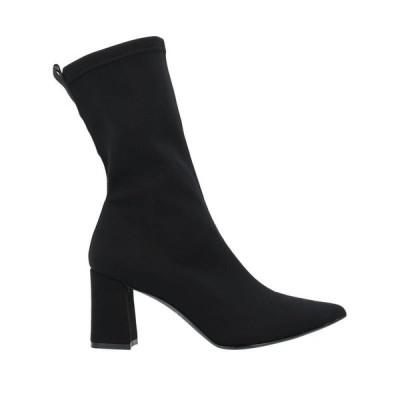 ISLO ISABELLA LORUSSO ショートブーツ ファッション  レディースファッション  レディースシューズ  ブーツ  その他ブーツ ブラック