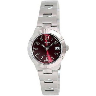 腕時計 カシオ Casio レディース LTP-1241D-4A2D ステンレス スチール 腕時計