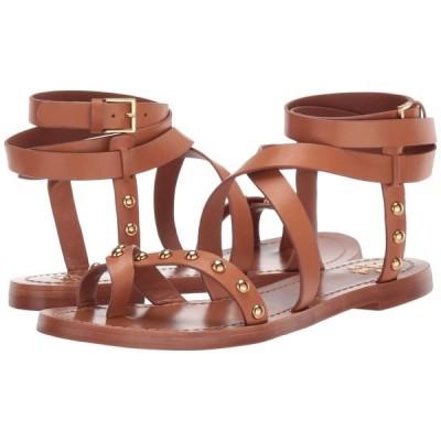 トリー バーチ Tory Burch レディース サンダル・ミュール シューズ・靴 Ravello Studded Ankle-Wrap Sandal Tan