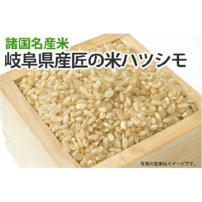匠の米・岐阜ハツシモ【玄米】1kg