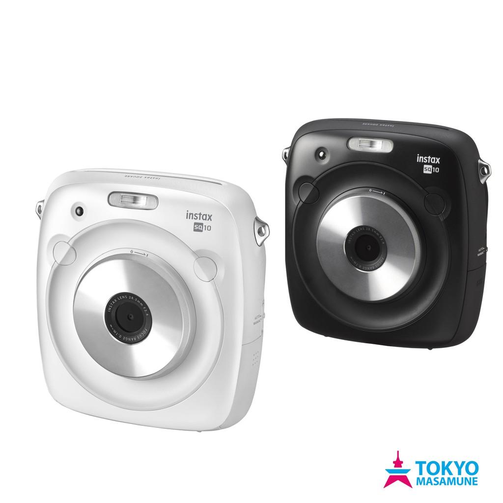 富士 instax square SQ10 數位 拍立得 相機 平輸貨 白色/黑色 2色
