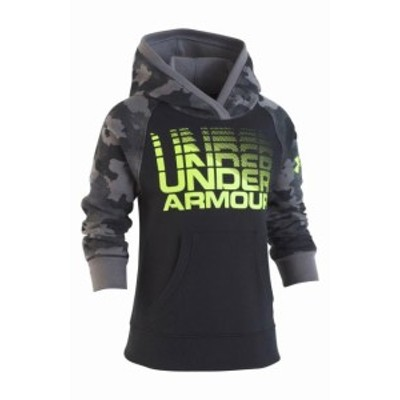 Under Armour アンダー アーマー ファッション トップス Under Armour NEW Black Baby Boys Size 2T Logo Hooded Camo Sweater