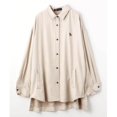 【179/WG ニコルクラブ】 チュニックシャツ レディース 28オフホワイト 38(M) 179/WG NICOLE CLUB