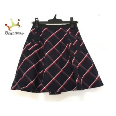 ブルーレーベルクレストブリッジ スカート サイズ36 S レディース 美品 チェック柄       スペシャル特価 20200518