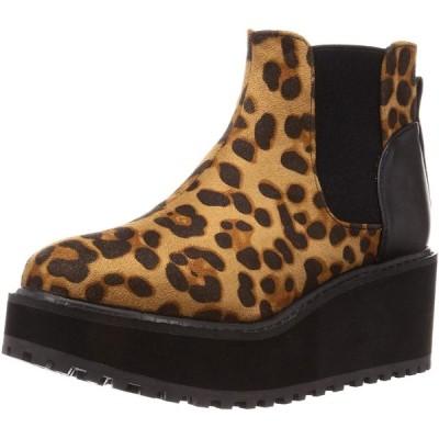 バイアシナガオジサン ブーツ 8510019 レオパード 22.0~22.5 cm