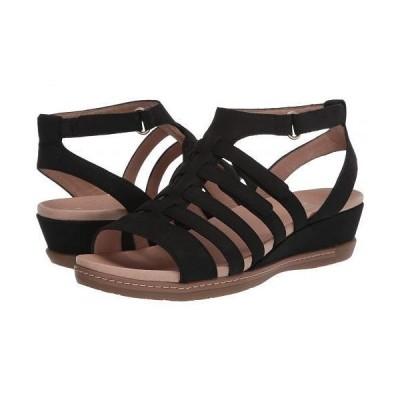 Dansko ダンスコ レディース 女性用 シューズ 靴 サンダル Athena - Black Milled Nubuck