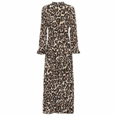 バウム ウンド ヘルガーデン Baum und Pferdgarten レディース ワンピース ミドル丈 ワンピース・ドレス Alitha leopard midi dress leop