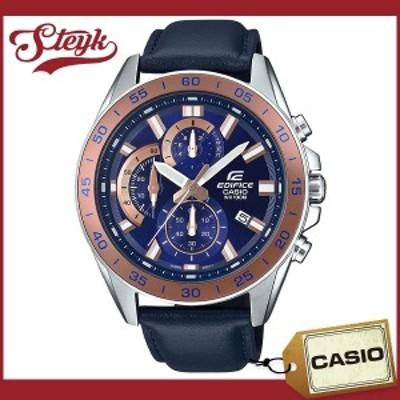 CASIO EFV-550L-2A カシオ 腕時計 アナログ EDIFICE エディフィス メンズ ネイビー カジュアル