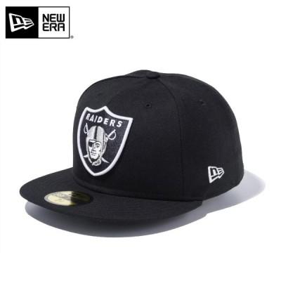 【メーカー取次】 NEW ERA ニューエラ 59FIFTY NFL レイダース ブラック 12336650 キャップ ブランド【クーポン対象外】【T】