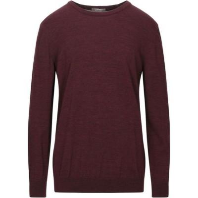 アンドレア フェンツィ ANDREA FENZI メンズ ニット・セーター トップス Sweater Maroon