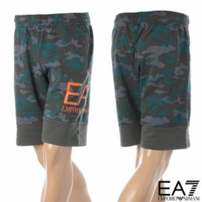 エンポリオアルマーニ EA7 EMPORIO ARMANI スウェットショートパンツ メンズ 3KPS60 PJ5BZ カモフラ